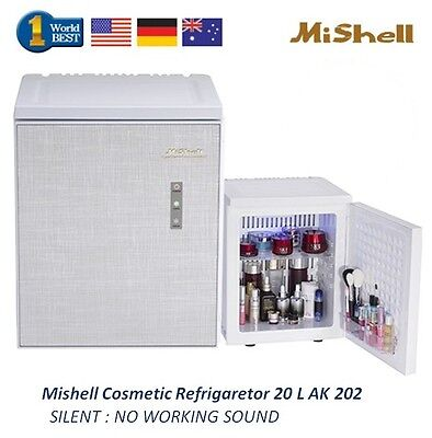 NEW Mishell Cosmetic Refrigerator 20 L AK 202 Silent Design & Smart Temp Control