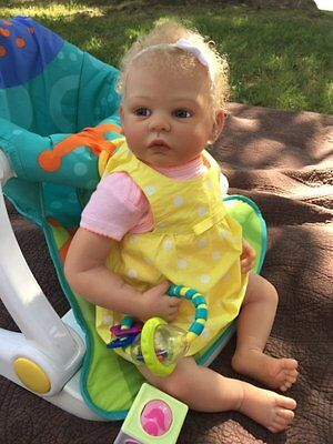 Custom Reborn Baby Girl Doll Shannon  By Ann Timmerman