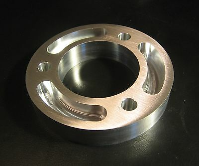 "BBC SBC Billet Aluminum Crank Pulley Spacer 3/4"" for Gilmer Drive Pulley"