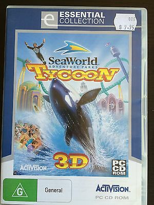 Sea World Tycoon 3D PC Game PC CD Rom