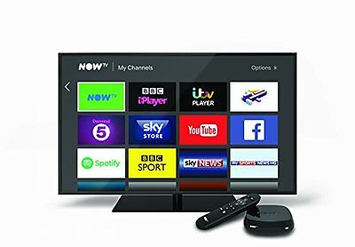 NOW TV Box with 3 Month Sky Entertainment Pass