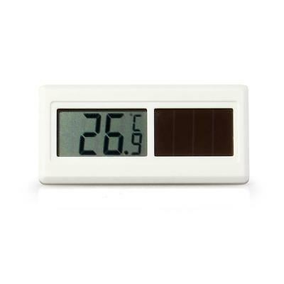 Solar Powered LCD Thermometer -50°C to 150°C Home Garden