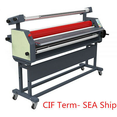 "63"" Full-auto Wide Format Roll Heat Assisted Cold Laminating Machine"