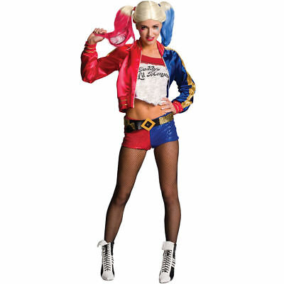 Harley Quinn Fancy Dress Suicide Squad Costume Fully Licensed Cosplay Outfit