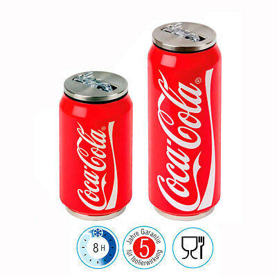 """LaPLAYA Drinking jar """"Cool Can"""" with Coca-Cola Print Thermo cup Sports bottle"""