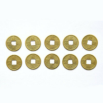 20PCS 24mm Traditional Chinese Ancient Feng Shui Lucky Coin Good Fortune Gift