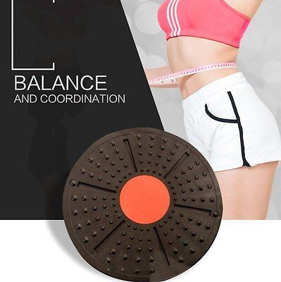 AU Professional Balance Board Fitness Wobble Yoga Plastic Pilate Disc Home GYM 1