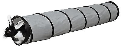 """Nylon Stable Playing Tunnel Toy for Guinea Pigs Chinchillas Rabbits 117cm (46"""")"""
