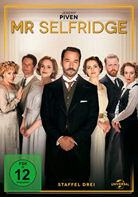 Mr. Selfridge Die Komplette Dvd Staffel / Season 3 Deutsch