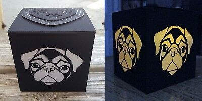 Pug Gift LED Flameless Candle Luminary
