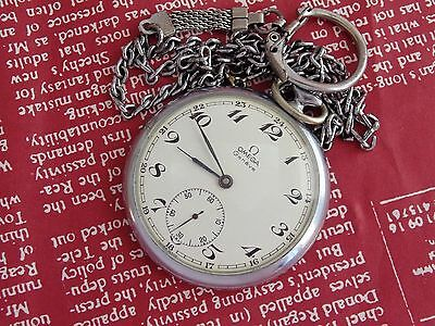 VINTAGE OMEGA Pocket Watch cal. 830  Swees Made