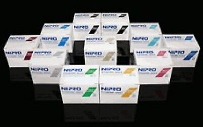 """Nipro 22G x 3/4 """" Hypodermic Needle -Box of 100- Comes in Sterile Blister Pack"""
