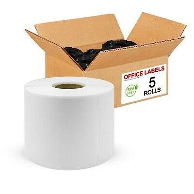 "5 Rolls of 30256 Compatible Multipurpose Labels for DYMO® 2-5/16"" x 4"""