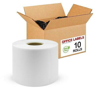 "10 Rolls of 30256 Compatible Multipurpose Labels for DYMO® 2-5/16"" x 4"""