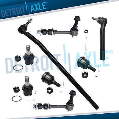 Brand New 8pc Complete Front Suspension Kit for Dodge Ram 1500 2500 3500 - 4WD