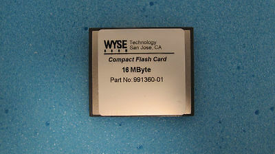 Wyse Technology CompactFlash 16MB Memory Card 991360-01 TESTED