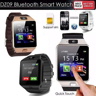 Premium Touch Screen Smart Fitness Watch For Samsung Lg Htc Iphone With Camera