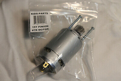 2 Faster Motors!!!  For 15T Power Wheels Jeep Hurricanes Gearboxes **upgrade