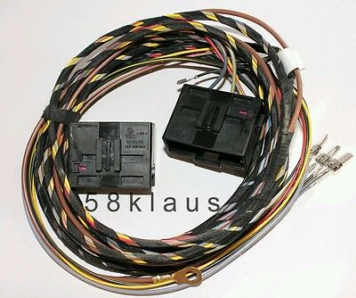 Audi A3 8P 8PA Seat Heater heated seats adapter cable harness set wiring loom