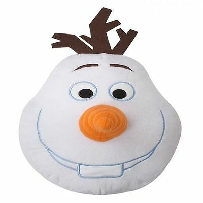 Disney Frozen Olaf Shaped Cushion Pillow Great Gift Ideas