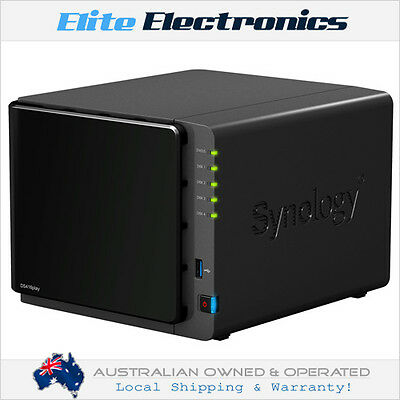 "Synology Ds416Play Diskstation 4-Bay Nas Server Dual Core 1.6Ghz 3.5"" Diskless"