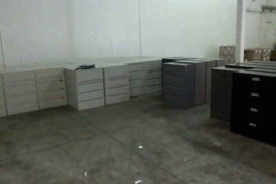 OVER 100 WIDE LATERAL FILE CABINETS  - keys available & delivery available ! ! !