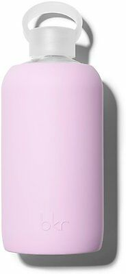 Glass Water Bottle with Soft Silicone Sleeve, BKR, 1 Liter Juliet