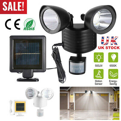 22 LED Floodlight Lamp Security Detector Solar Spot Light Motion Sensor Garden