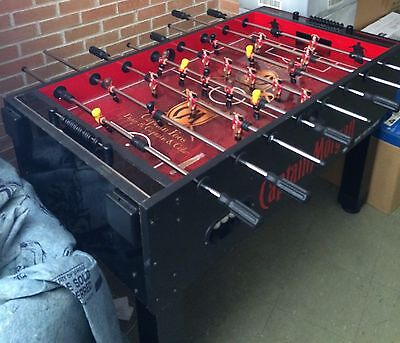"Foosball Table...54""l X 29""w X 34 1/2""h..captain Morgan."