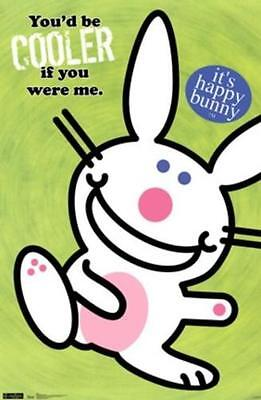 Jim Benton Its Happy Bunny You'd Be Cooler Poster New 22X34 Free Shipping