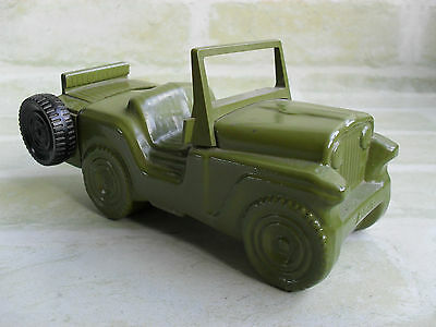 Vintage Avon Army Jeep Aftershave Bottle / Decanter - Empty - Collectable