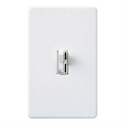 Slide Toggle Dimmer Switch For CFL And LED Bulbs by Lutron Electronics Inc, 3PK