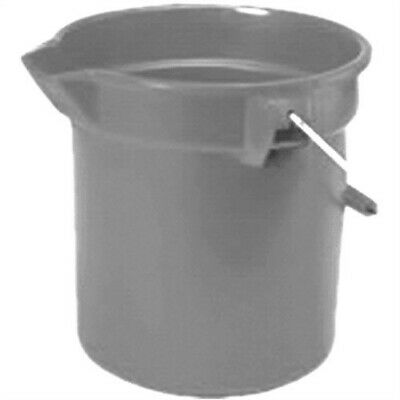 "14-Quart Round Utility Bucket, 12"" Diameter x 11-1/4""h, Gray Pla,No 2614-00-GRAY"