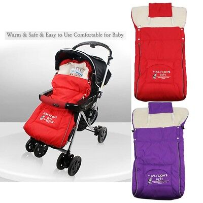 Stroller Fleece Baby Sleeping Bag Infant Pushchair Fleabag Footmuff Sack Color