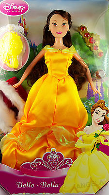 DISNEY 30cm Beauty Beast PRINCESS Charms Doll BELLE + ACCESSORIES Gift 3+