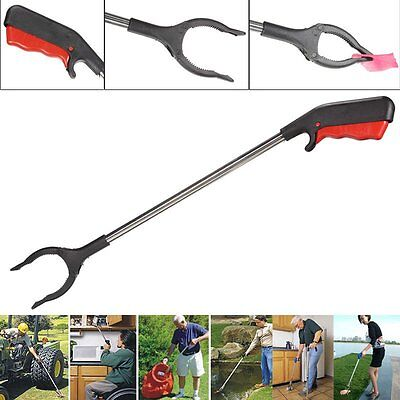 Pick Up Garbage Long Reach Helping Hand Arm Extension Tool Trash Mobility E5