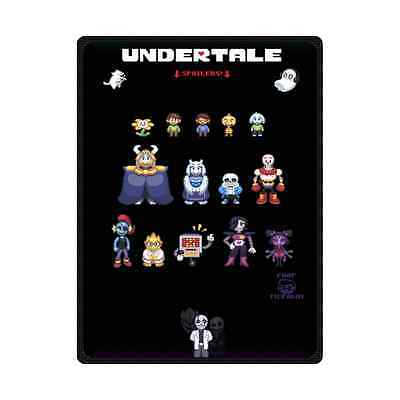 Game Undertale Outdoor Travel Camping Picnic Blanket Beach Mat 78x60 Inch
