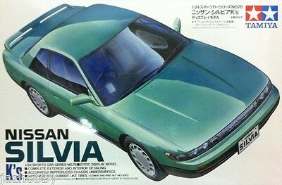 Tamiya 24078 1/24 Scale Model Sports Car Kit Nissan Silvia S13 K's Series