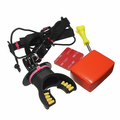 Surfing Shoot Surf Dummy Bite Mouth Mount Mount For GoPro Hero 4/3+/3/2/1