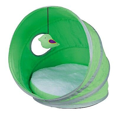Neva Cuddly Play Cave Cat Bed with Toy on String Reversible Cushion Space Saving