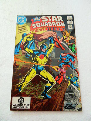 All - Star Squadron 21 .  DC . 1983 -   FN +