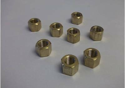Brass exhaust manifold nuts