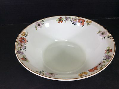 """Beautiful Vintage Johnson Brothers England Floral  9 1/4"""" Round Serving Bowl"""