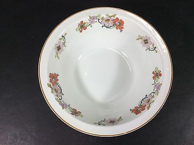"""Beautiful Vintage Johnson Brothers England Floral  8 3/8"""" Round Serving Bowl"""