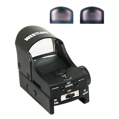 Holographic Reflex Micro 3 MOA Green / Red Dual Illuminated Dot Sight