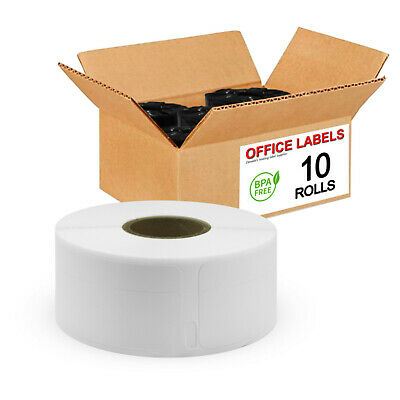 "10 Rolls of 30330 Compatible Return Address Labels for DYMO® 3/4"" x 2"""