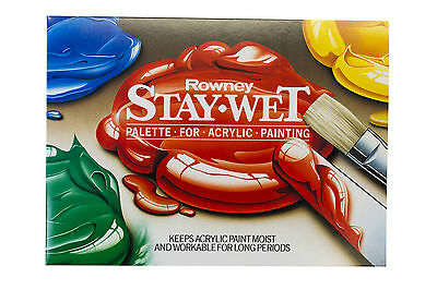 Daler Rowney Stay Wet Palette for Acrylic Painting - Small