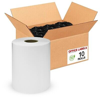 """10 Rolls of 1744907 Compatible Shipping Labels for DYMO® 4XL 4"""" x 6"""""""