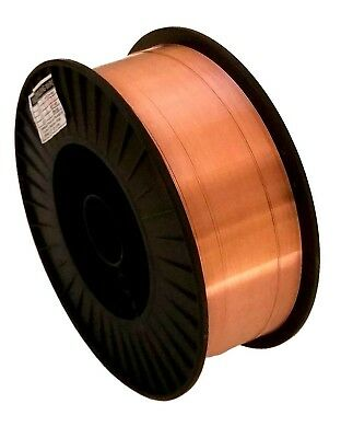 "Two 11-Lb Spools 0.035"" ER70S-6 MIG Welding Roll Wire Carbon Steel"