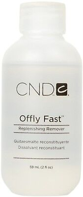 CND Shellac OFFLY FAST NOURISHING REMOVER - 59 mL - Gel Soak Off Remover Acetone